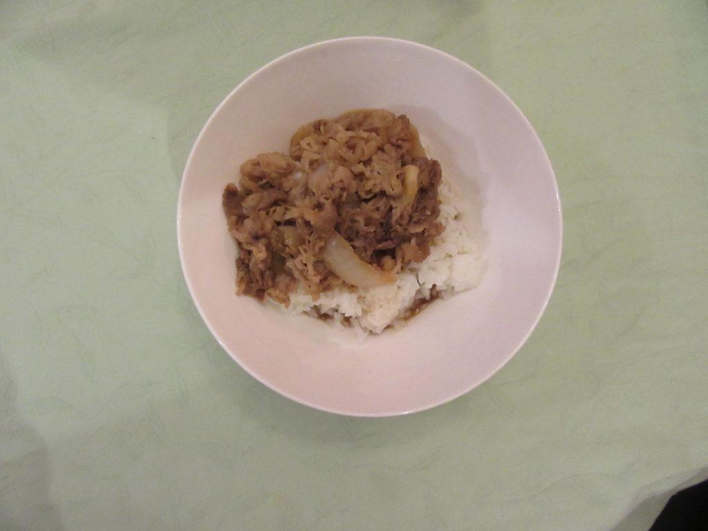 吉野家 冷凍牛丼の具 3