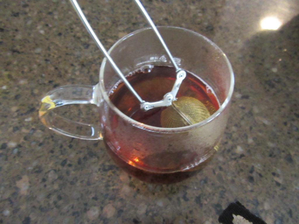 青芳製作所 トング式茶こし 5