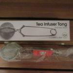 【青芳製作所 トング式 茶こし レビュー】紅茶を1杯分だけ入れられるおすすめアイテムを買ってみた【入れ方】【口コミ、感想】