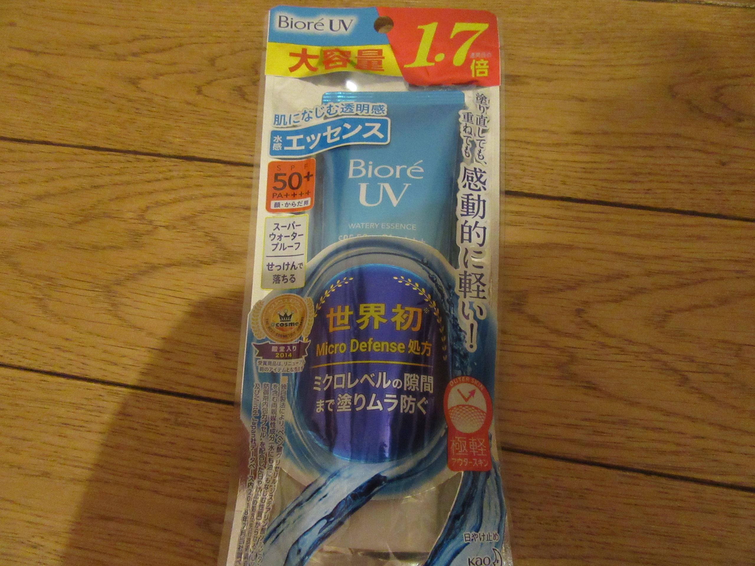 Biore アクアリッチ UV SPC 50+_3