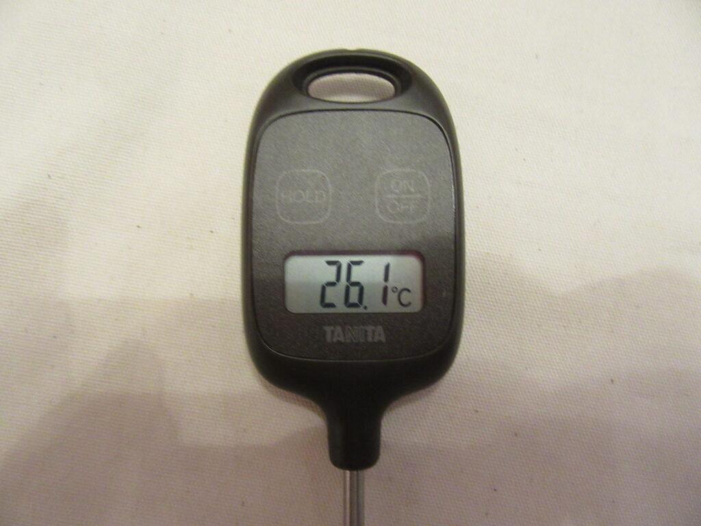 タニタ 料理用温度計 7